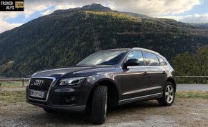 French alps taxi véhicule Audi quattro à votre service