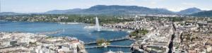 Destination Genève avec French Alps Taxi