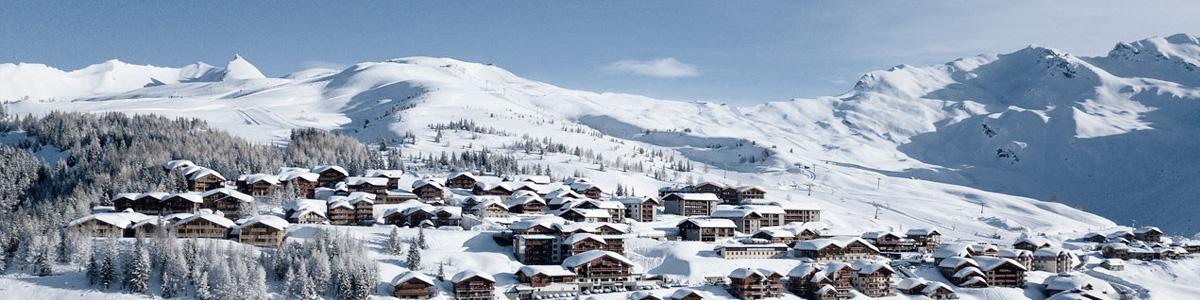Destination La Rosière avec French Alps Taxi