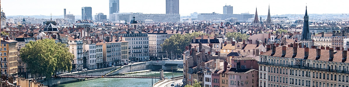 Destination Lyon avec French Alps Taxi