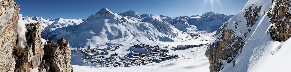 Destination Tignes avec French Alps Taxi
