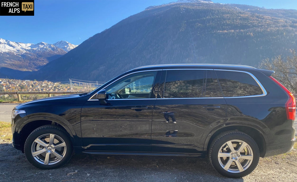 French Alps Taxi - Véhicule Volvo XC 90 Momentum 4×4